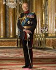 Official Image of HRH The Duke of Edinburgh wearing Army Field Marshal Uniform - D4/AFM/JC