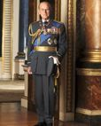 Official Image of HRH The Duke of Edinburgh wearing Royal Air Force Uniform - D4/RAF/JC